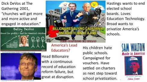 Billionaires Fixing Education