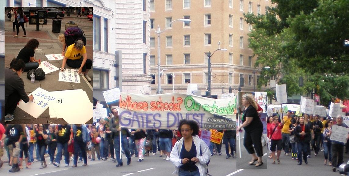 Marching in Seattle 2014