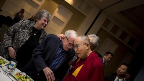 Munk and the Dalai Lama
