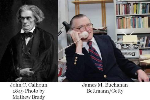 Buchanan and Calhoun