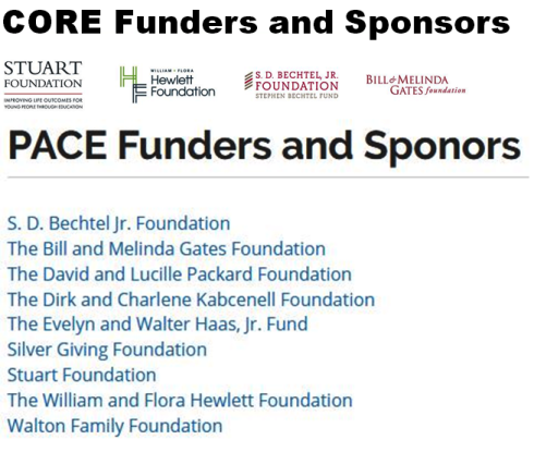 CORE and PACE Funders